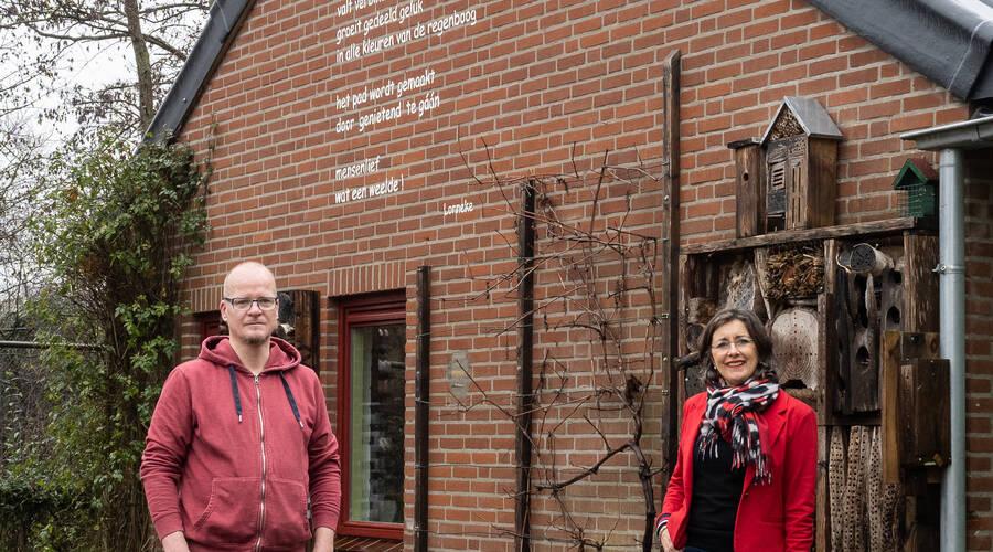 Artikel Glossy Sociom - Andre Bollen en Liesette Buskens - vrijwilligerswerk